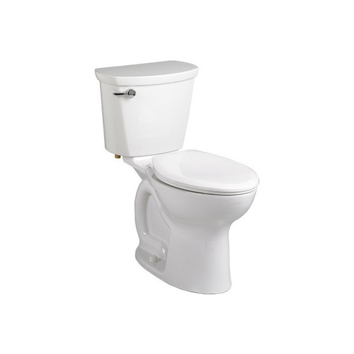"""American Standard 215BB104 Cadet Pro Right Height Round Front Toilet 10"""" - White"""