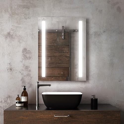 Kalia Brilia Illuminated LED Anti Fog Mirror 24'' X 32''