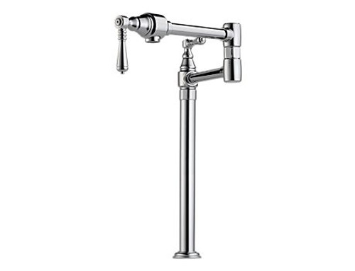 Brizo pot filler traditional deck mount kitchen faucet