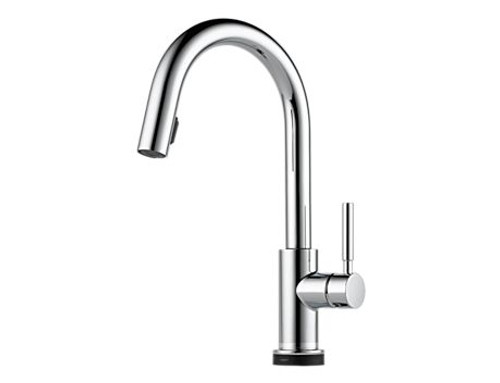Brizo Solna single handle pull-down touches kitchen faucet
