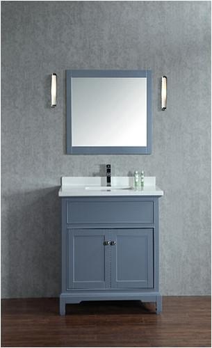 "Argento 24"" Bathroom Vanity Ice Grey"