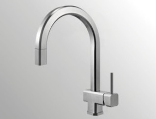 Castle Bay Atlanta Pullout Kitchen Faucet Stainless