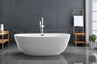 "Kelowna 67"" Freestanding Bath Tub White"