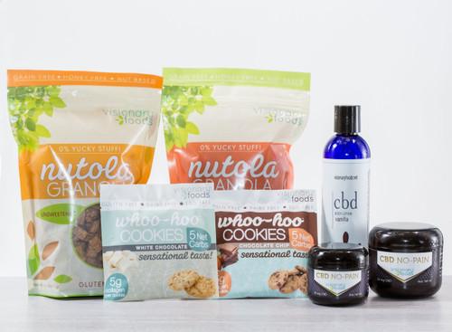 Paleo Friendly Snacks and Anti-Inflammatory CBD Lotions