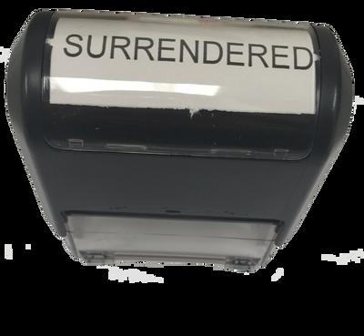 Surrendered Stamp