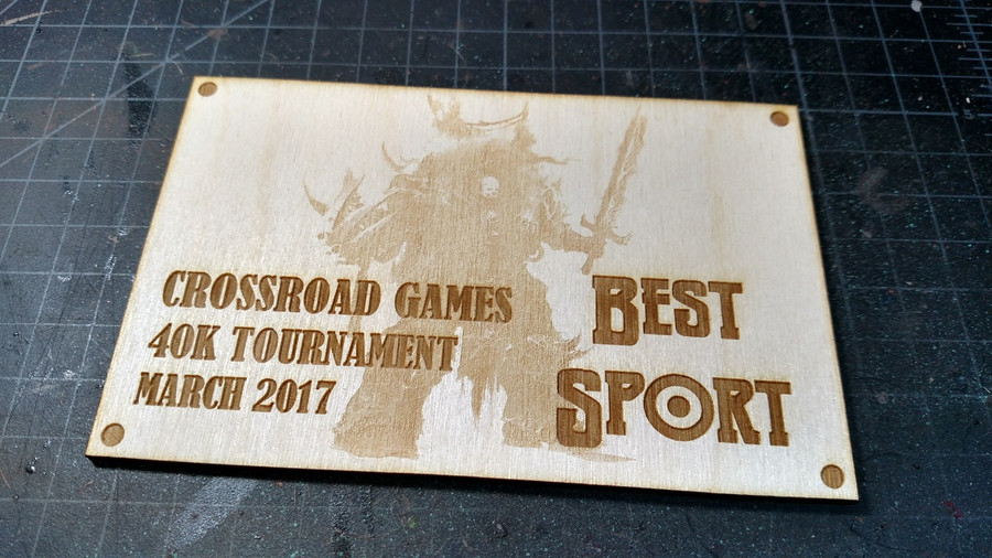 Plaque Trophies
