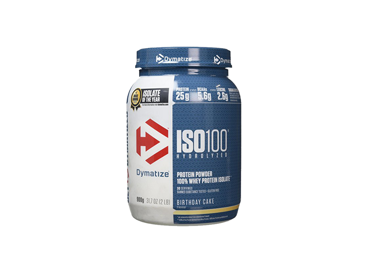 Dymatize Nutrition Iso 100 Birthday Cake 900g The Protein