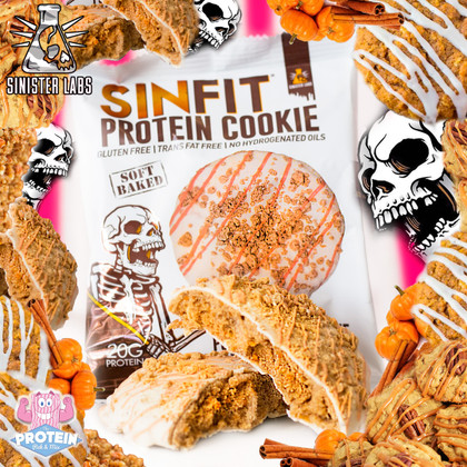 SinFit Limited Edition Pumpkin Spice Cookie now available!