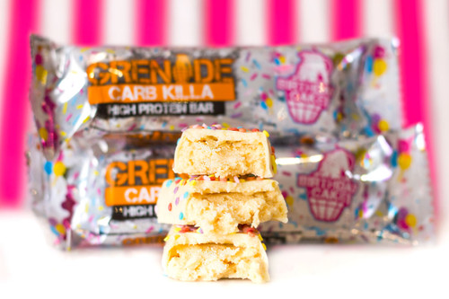 Grenade Carb Killa Protein Bar Birthday Cake The