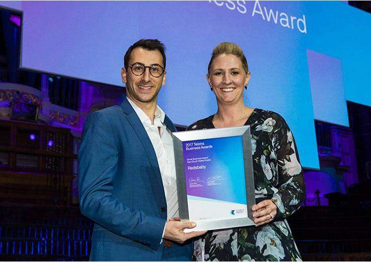 Redsbaby named NSW Finalist, 2017 Telstra Business Awards