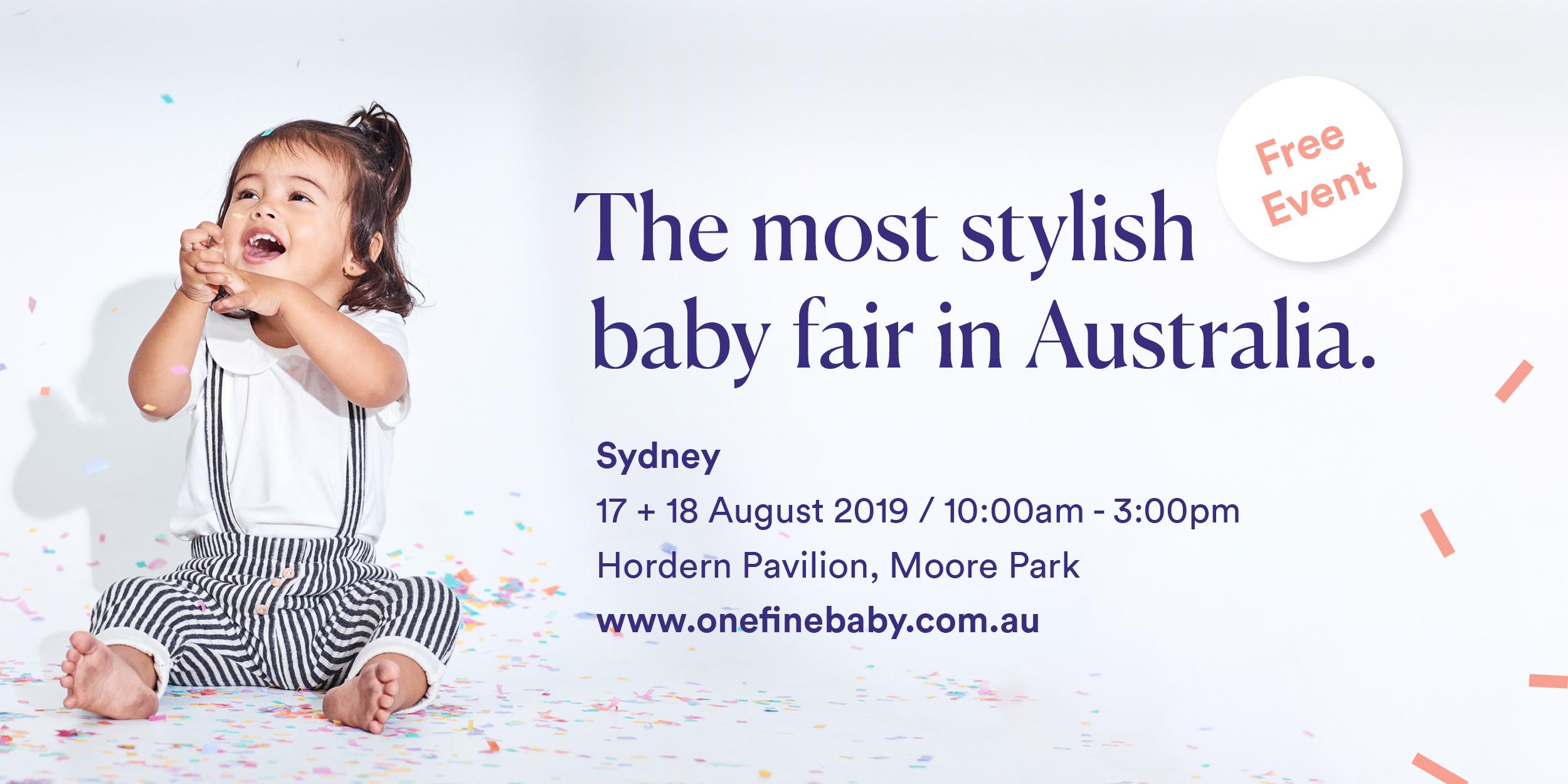 One Fine Baby Fair Sydney