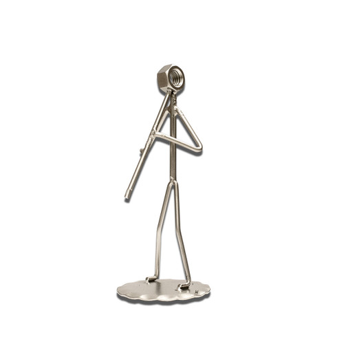 Clarinet Metal Figure