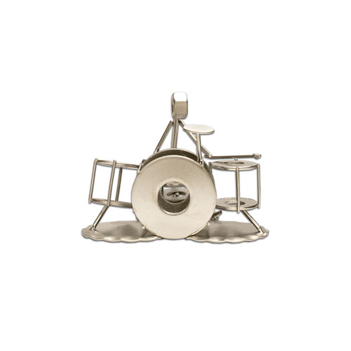 Drumset Metal Figure