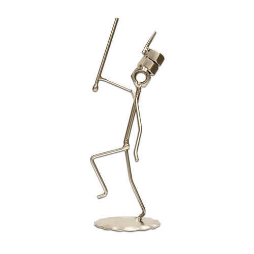 Drum Major Metal Figure