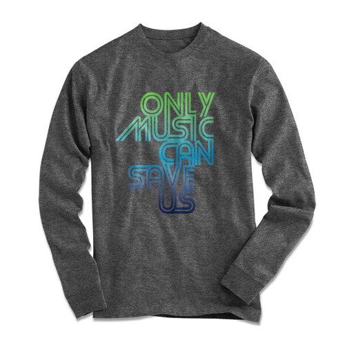 Only Music Sport Gray Longsleeve T-Shirt