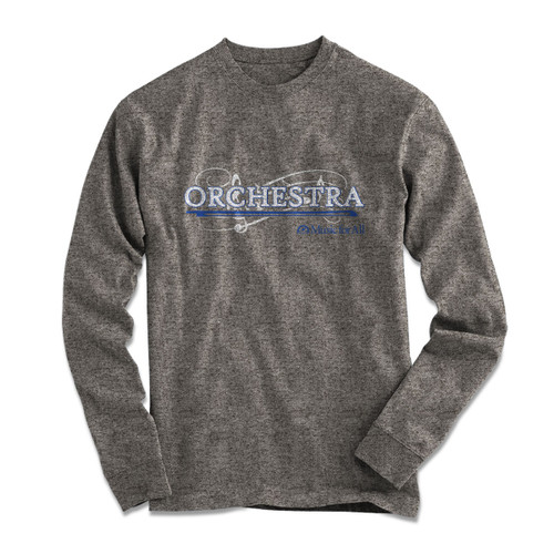 MfA Orchestra Bow Long Sleeve Grey T-Shirt