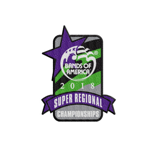 2018 BOA Super Regional Championship Patch