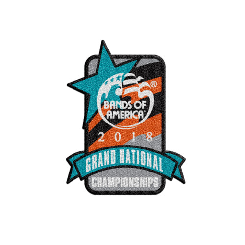 Pre-Order 2018 Grand National Championship Patch