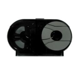 "Jumbo 9"" Double Toilet Tissue Dispenser w/Lock"