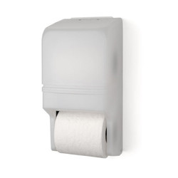 Two Roll Standard Tissue Dispenser, RD0025, White