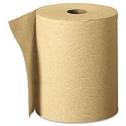 Certo Roll Paper Towel, Brown, 6 Rolls Per Case