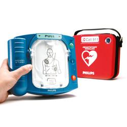 Philips HeartStart OnSite AED Defibrillator + Case