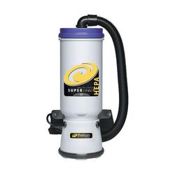 ProTeam Super CoachVac HEPA, 10 Qt Backpack Vacuum w/Xover Tool Kit D (Telescope Wand), 107119