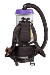 ProTeam Super CoachVac HEPA Backpack Vacuum - Back