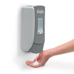 GOJO ADX-7, Foam Soap Dispenser, 700 mL, Grey/White, 8784-06