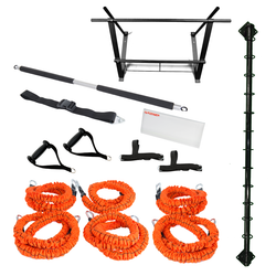 Stroops The Spine, Platinum Kit, 17-Piece Wall-Mounted Anchoring System (SPINE PLATINUM KIT)