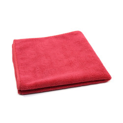 16 X 16 Microfiber Towels, Red