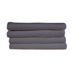 16x28 Bleach Proof Salon Hand Towel, Charcoal Grey, 300A Series, 3lb (300A-ST-CG)