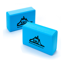 Black Mountain Products Yoga Blocks, Set of Two (BMP-YogaBlock-)
