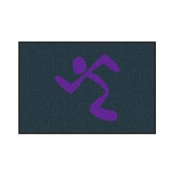 The Andersen Company Waterhog Classic Logo Mat, Anytime Fitness Interior Entrance Mat, 234