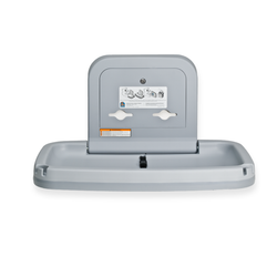Koala Kare Standard Horizontal Plastic Baby Changing Station, KB200 - Grey