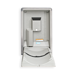 Koala Kare Vertical Stainless Steel Baby Changing Station, KB111-SS