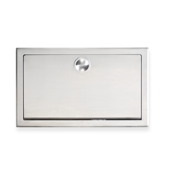 Koala Kare Horizontal Stainless Steel Baby Changing Station, KB110-SS - Recessed