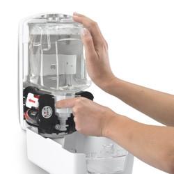 GOJO LTX-12 Touch Free Dispenser, 1200 mL, White/White (1980-04)