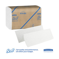 Kimberly-Clark Scott Towel Multifold Towels, White, 01804 (250 towels/pack) (16 packs/case)