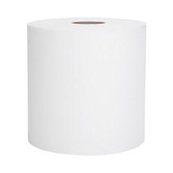 Kimberly-Clark Scott Hard Roll Towels, White, 02068 (400 ft/roll) (12 rolls/case)