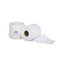 Tork Universal Bath Tissue Roll, 2-Ply (500 sheets/roll) (96 rolls/case) (Tork TM1616S)