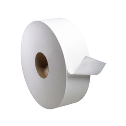 Tork Universal Jumbo Bath Tissue Roll, 1-Ply (4000 feet/roll) (6 rolls/case) (Tork TJ1212A)