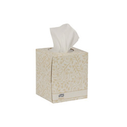 Tork Premium Facial Tissue Cube Box, White (94 sheets/box) (36 boxes/case) (Tork TF6910)