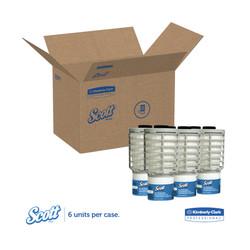 Kimberly-Clark Scott Continuous Air Freshener Refill, Ocean, 91072 (6 refills/case)