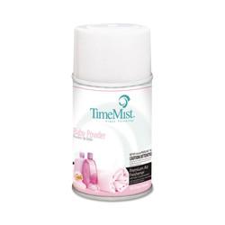 TimeMist Metered Fragrance Dispenser Aerosol Refill, Baby Powder Fragrance, 6.6 oz (12 refills/case) (TMS332512TMCAPT)