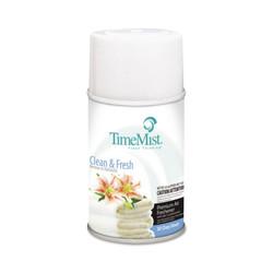 TimeMist Metered Fragrance Dispenser Aerosol Refill, Fresh N Clean Fragrance, 6.6 oz (12 refills/case) (TMS332502TMCAEA)