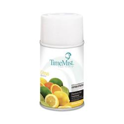 TimeMist Metered Fragrance Dispenser Aerosol Refill, Citrus Fragrance, 6.6 oz (12 refills/case) (TMS332508TMCA)
