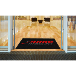 M+A Matting Snap Fitness Logo Classic Impressions, Horizontal Interior Wiper Mat, 70 (70-Snap-H)