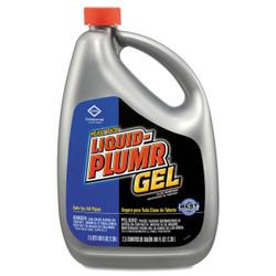 Liquid Plumr Heavy-Duty Clog Remover, Gel, 80 oz Bottle, 35286CT (6 bottles/case)