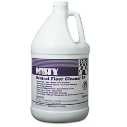 Floor cleaner with neutral pH.